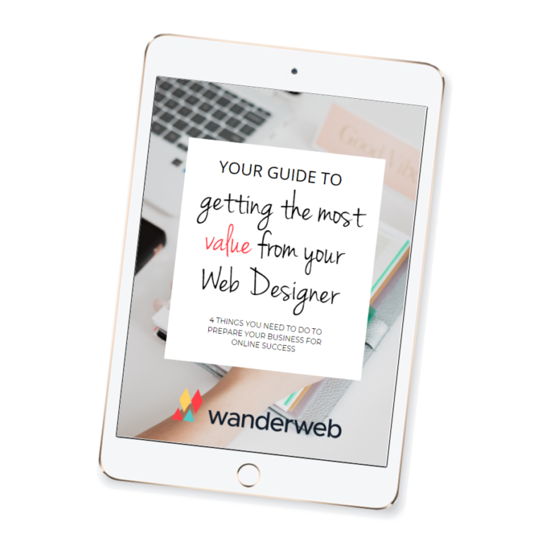 WanderWeb Guide to Getting the Most Value From Your Web Designer eBook