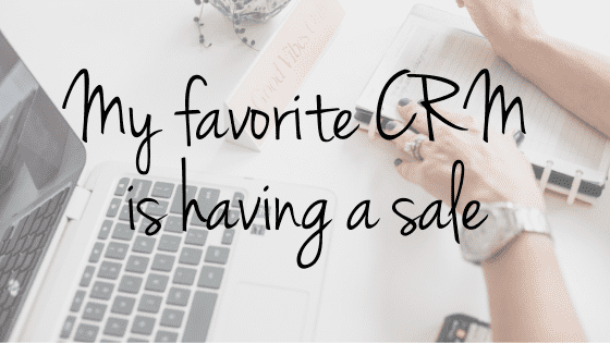 The CRM I use to run my web design business