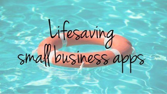 Lifesaving small business apps